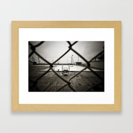 end of summer Framed Art Print