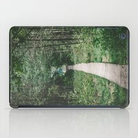 wooden iPad Cases featuring Wooden Path by Errne