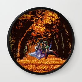 both in the forest Wall Clock