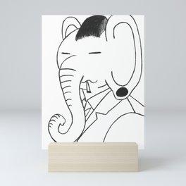 Un Elephantè Mini Art Print