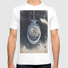 picture frame White MEDIUM Mens Fitted Tee