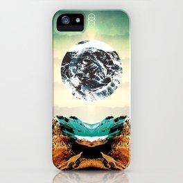 Orbital Sea iPhone Case