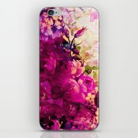 climbing iPhone & iPod Skins featuring climbing  roses by clemm