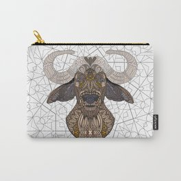 African Buffalo 2015 Carry-All Pouch