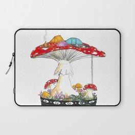 Fungi Nights - Mushroom Forest Tent Camping Laptop Sleeve