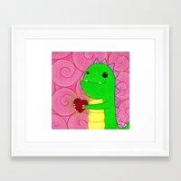 chuck Framed Art Prints featuring Chuck by infiniteamethyst