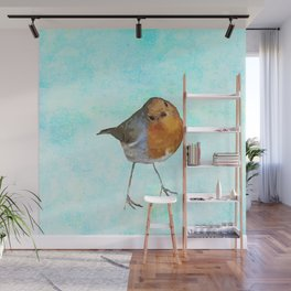 Robin -The visitor Wall Mural