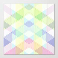 Geometric patchwork 4 Canvas Print