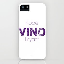 VINO (Purple) iPhone Case