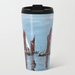Thames barges Travel Mug