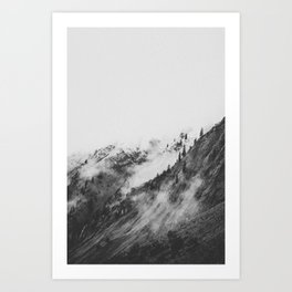 THE MOUNTAINS VI / Bavarian Alps Art Print
