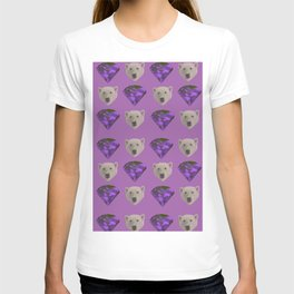Diamond Bear - Purple T-shirt