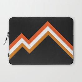 Athletic Retro Orange #kirovair #home #decor #retro #orange #gymwear #athletic #design Laptop Sleeve