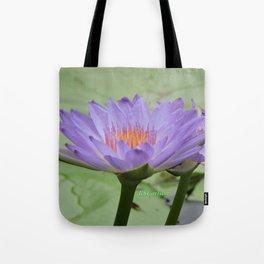 Blue Water Lilies in Hangzhou Tote Bag