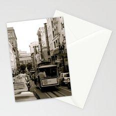 San Francisco Street B&W Stationery Cards