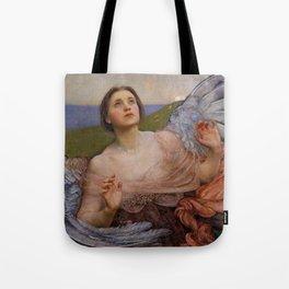 "Annie Louisa Swynnerton (née Robinson) ""The Sense of Sight"" Tote Bag"