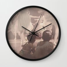Ballerinas Wall Clock