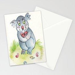 Koala-fied Cuteness Stationery Cards