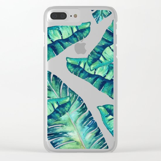 Tropical Glam #society6 #decor #buyart Clear iPhone Case