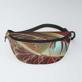 Distant Angle To Trap Fractal Art Fanny Pack