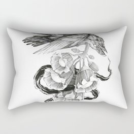 Soul of a Raven Rectangular Pillow