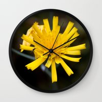 insects Wall Clocks featuring Two Insects by Loesj