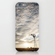 Sandhills Windmill @ Sunset Verticle iPhone 6s Slim Case