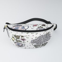 Tea Time in Color Fanny Pack