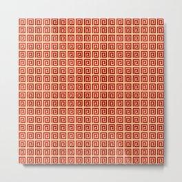 Antic pattern 3- greek labyrinth Metal Print