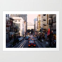 City Center Art Print