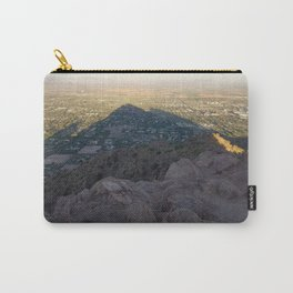 In the Shadow of a Mountain Carry-All Pouch