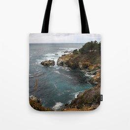California Coastline Tote Bag