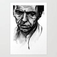 Only the Lonely - Frank Sinatra Art Print