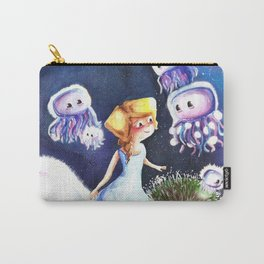 Jellyfish in the sky Carry-All Pouch