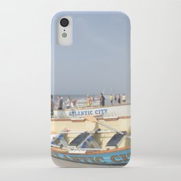 Atlantic City Lifeboats iPhone Case