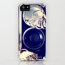 butterfly camera iPhone Case