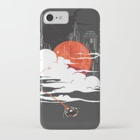 uncharted iPhone & iPod Cases featuring Uncharted Voyage by Marco Angeles
