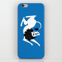 Dancing Beasts: Lion iPhone Skin