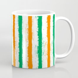 irish splatter stripes Coffee Mug