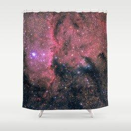 Nebula (NGC 6188) Shower Curtain
