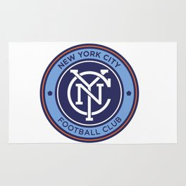 NEW YORK CITY FC Logo Rug