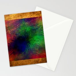 geometric  abstract 454 Stationery Cards