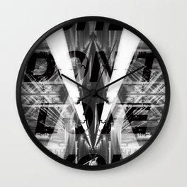 City Love Wall Clock