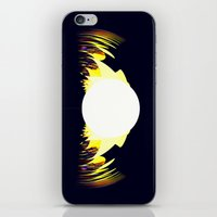 falcon iPhone & iPod Skins featuring falcon by donphil