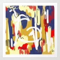 chris's art 4 Art Print