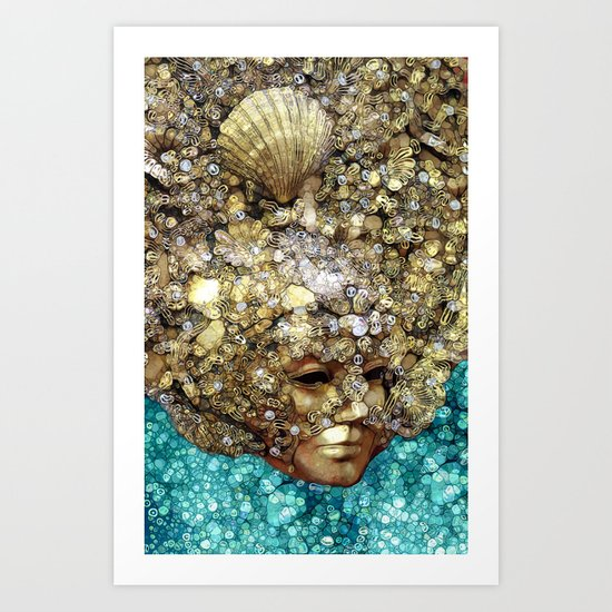 Sea Seducer Art Print