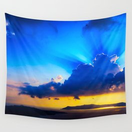 Angel sky Wall Tapestry