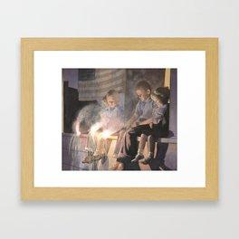 July the Fourth Framed Art Print