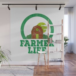 Farmer Life Earth Day 2019 Wall Mural