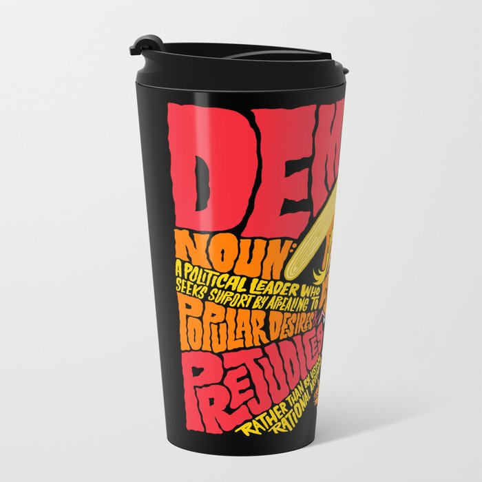 Demagogue Metal Travel Mug